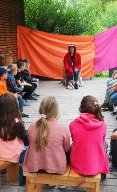 Märchenstunde im Brenzpark